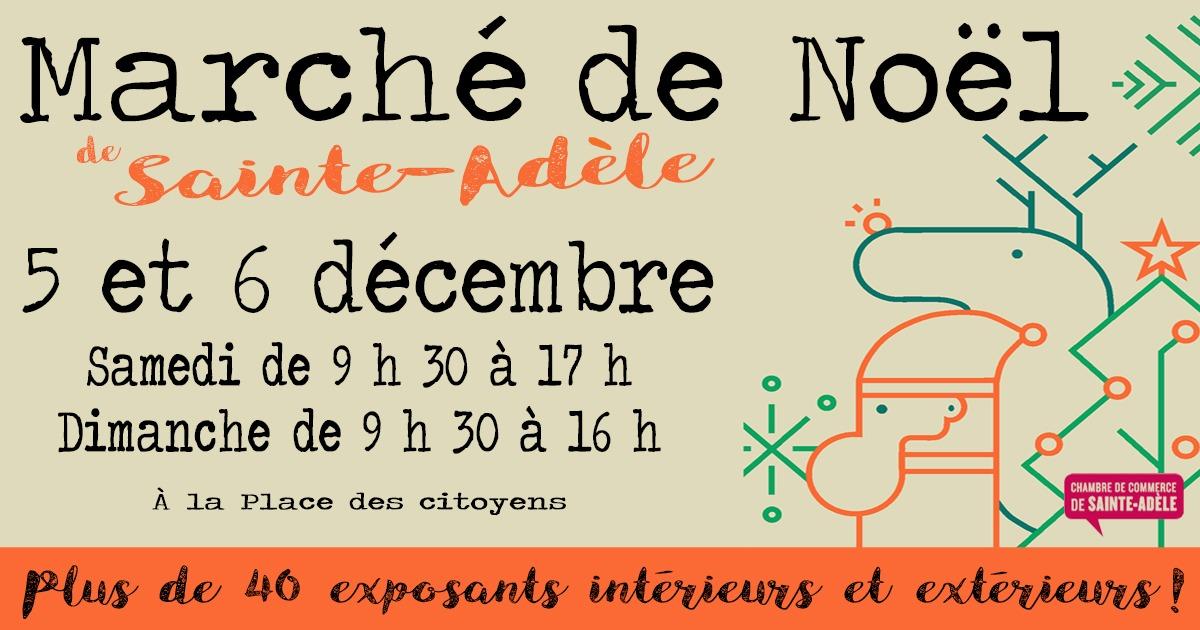 MArché de Noël 2020 - Sainte-Adèle