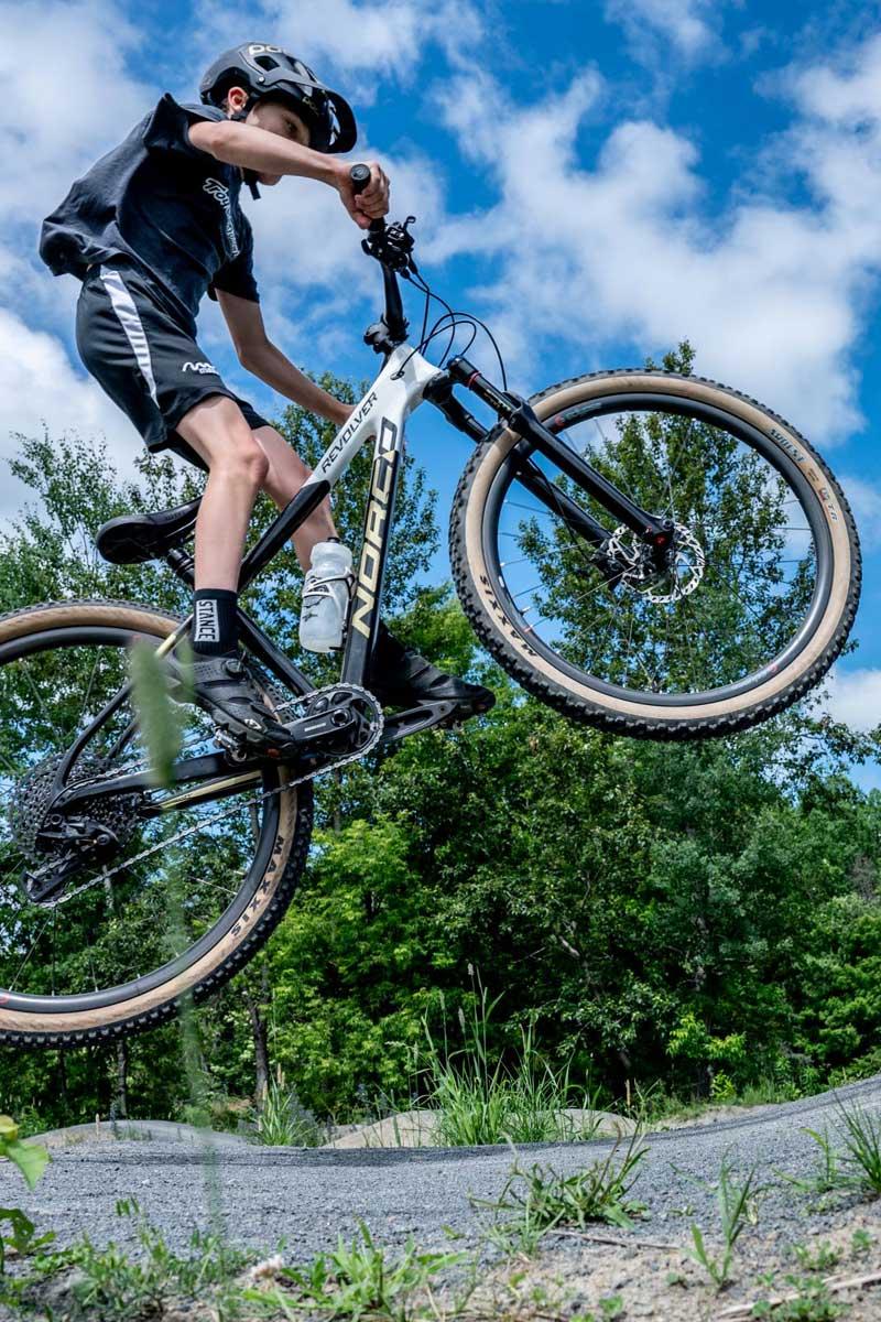 Vélo de montagne à Sainte-Adèle